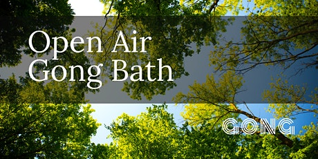 Open Air Gong Bath tickets