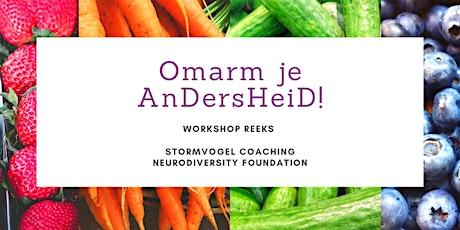 Workshop reeks Omarm je AnDersHeiD! tickets