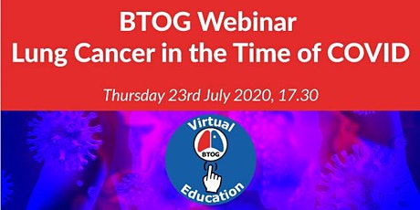 Lung Cancer in the Time of COVID: Question Time tickets