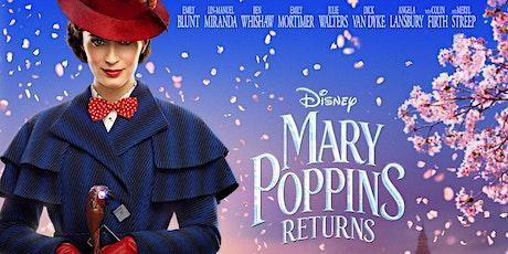 Peachy Cinema Mary Poppins Returns (U) tickets