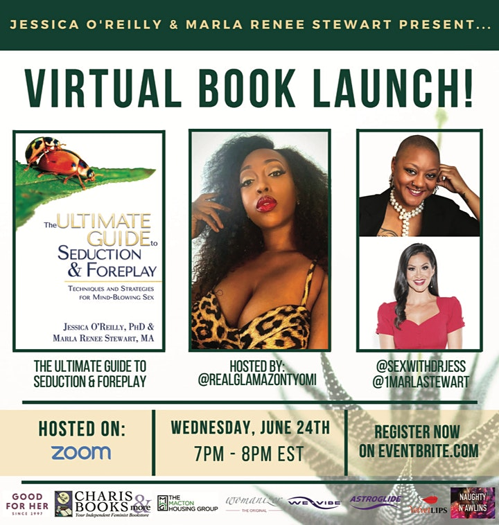 Virtual Book Launch - The Ultimate Guide to Seduct image