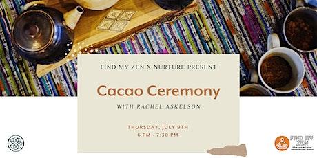 Cacao Ceremony tickets