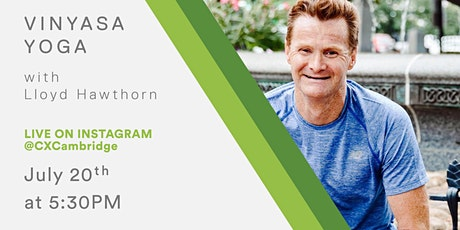 CX Fitness - Vinyasa Yoga with Lloyd Hawthorn tickets