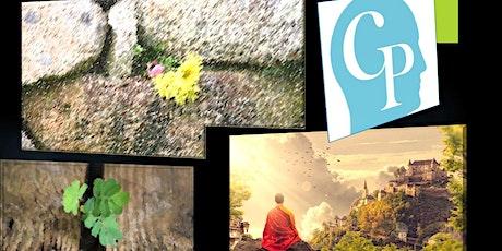 Prática: Consciência Plena - Mindfulness - Português ingressos