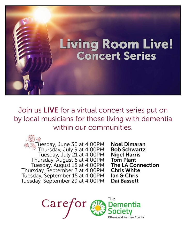 Living room Live! Concert: Folk Music  with Chris White image