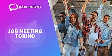 Job Meeting Torino: il 22 settembre incontra le aziende che assumono! biglietti