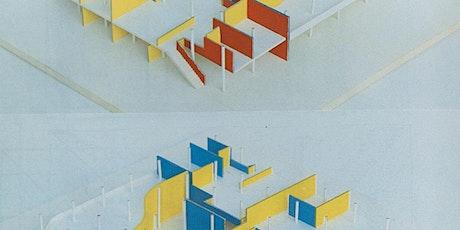 La mémoire en œuvre. Recherche et archives d'architecture. Henri Ciriani. billets
