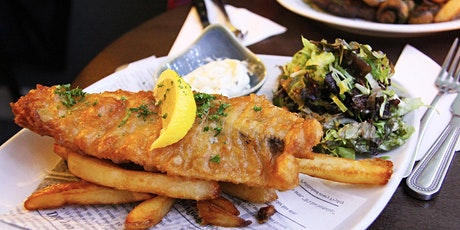 Pi Singles Fish and Chips on Teignmouth Backwater Beach tickets