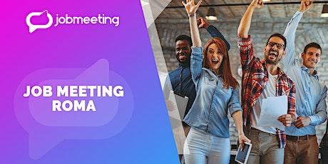 Job Meeting Roma: il 15 ottobre incontra le aziende che assumono! biglietti
