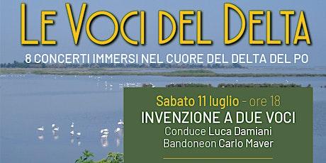 Concerto INVENZIONE A DUE VOCI - 11 luglio biglietti