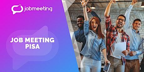 Job Meeting Pisa: il 25 novembre incontra le aziende che assumono! biglietti