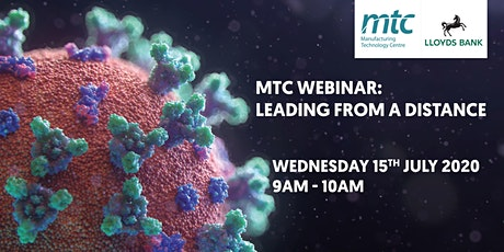 MTC Webinar: Leading From A Distance tickets