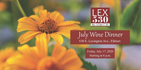 July Wine Dinner tickets
