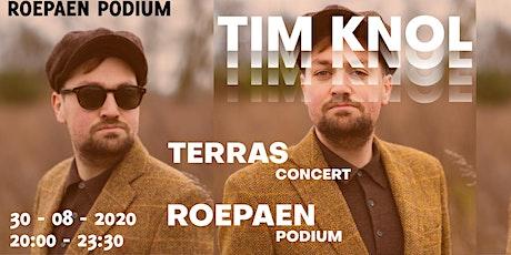 Tim Knol (solo)| Terrasconcert tickets