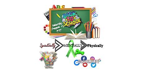 SMP BACK 2 SCHOOL COMMUNITY RELIEF entradas