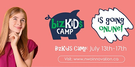 NWO Innovation Centre Virtual Bizkids Camp July 13th - 17th tickets