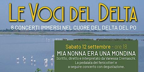 Concerto MIA NONNA ERA UNA MONDINA - 12 settembre biglietti