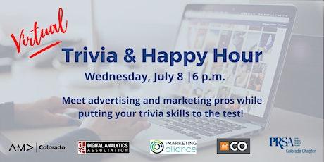 Virtual Trivia & Happy Hour tickets