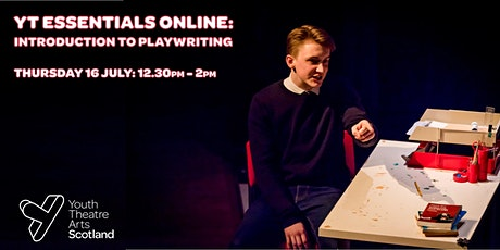 YT Essentials Online: Introduction to Playwriting tickets