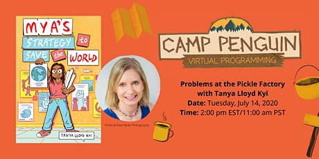 Camp Penguin: Problems at the Pickle Factory with TANYA LLOYD KYI tickets