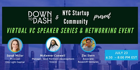Virtual Venture Capital Speaker Series and Networking Event tickets