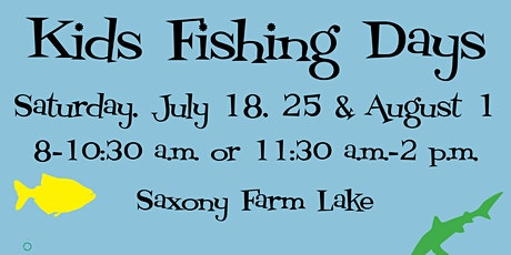 Concordia Lutheran Ministries Kids Fishing Days 2020 tickets