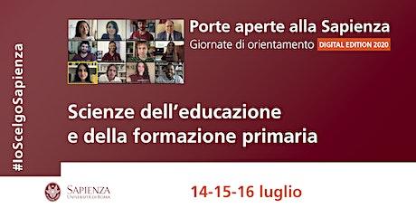 Area Scienze dell'educazione e formazione primaria biglietti