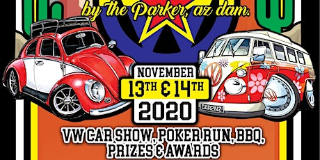 Volks Jam by the Parker, AZ Dam VW Car Show & Poker Run tickets