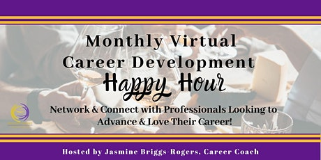 Virtual Career Development Happy Hour tickets