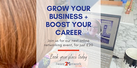 IWant2Network - Speed 60 Online Networking tickets