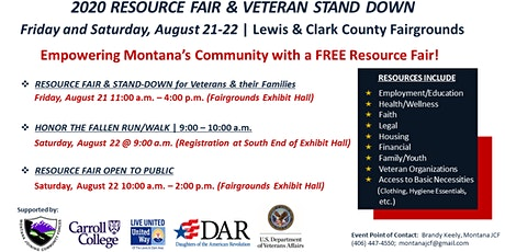 Community Resource Fair and Veteran Stand Down tickets