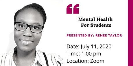 Mental Health for Students tickets