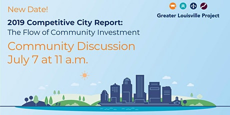 New Date!  2019 Report Release: The Flow of Community Investment tickets