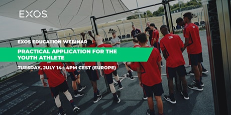 EXOS Education Webinar: Practical Application for the Youth Athlete tickets