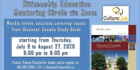 Online Citizenship Education Mentoring Circle tickets