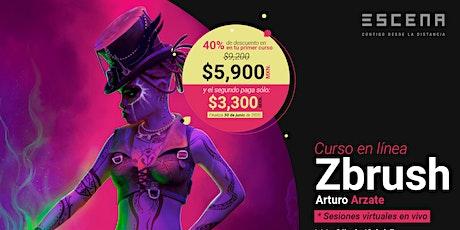 Curso en línea- ZBrush entradas
