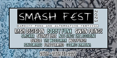 Smash Fest 2021: Cardiff Punk and Alternative Festival tickets