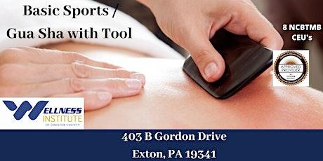 Basic Sports Massage / Gua Sha with Tool tickets