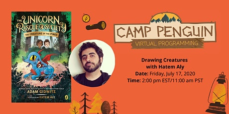 Camp Penguin: Drawing Creatures with HATEM ALY tickets
