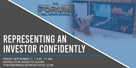 Representing an Investor Confidently tickets