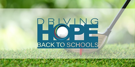 Driving Hope Back to Schools tickets