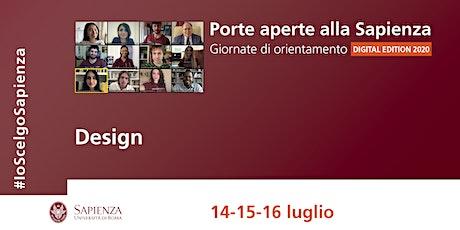 Area del design biglietti