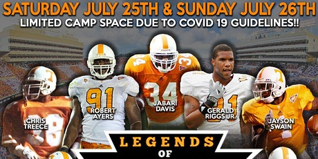 Legends of Tennessee 2-Day Football Camp 2020 (Pigeon Forge) tickets