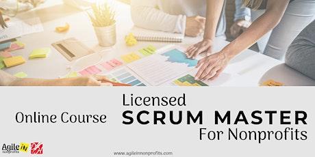 Licensed Scrum Master for Nonprofits  tickets