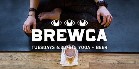 Brewga: Yoga and a Beer tickets