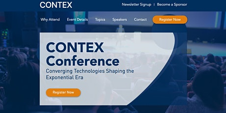 Contex Conference - Converging Technologies Shaping the Exponential Era tickets