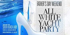MIAMI NICE 2020 ALL WHITE YACHT PARTY DURING FILM FEST...