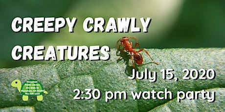 Creepy Crawly Creatures with Hands On Nature tickets