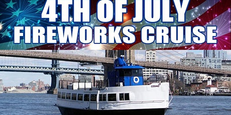 4th of July Fireworks Cruise - Cosmo Yacht tickets