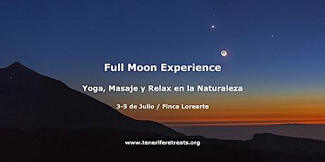 Full Moon Experience / Deposito de Reserva entradas